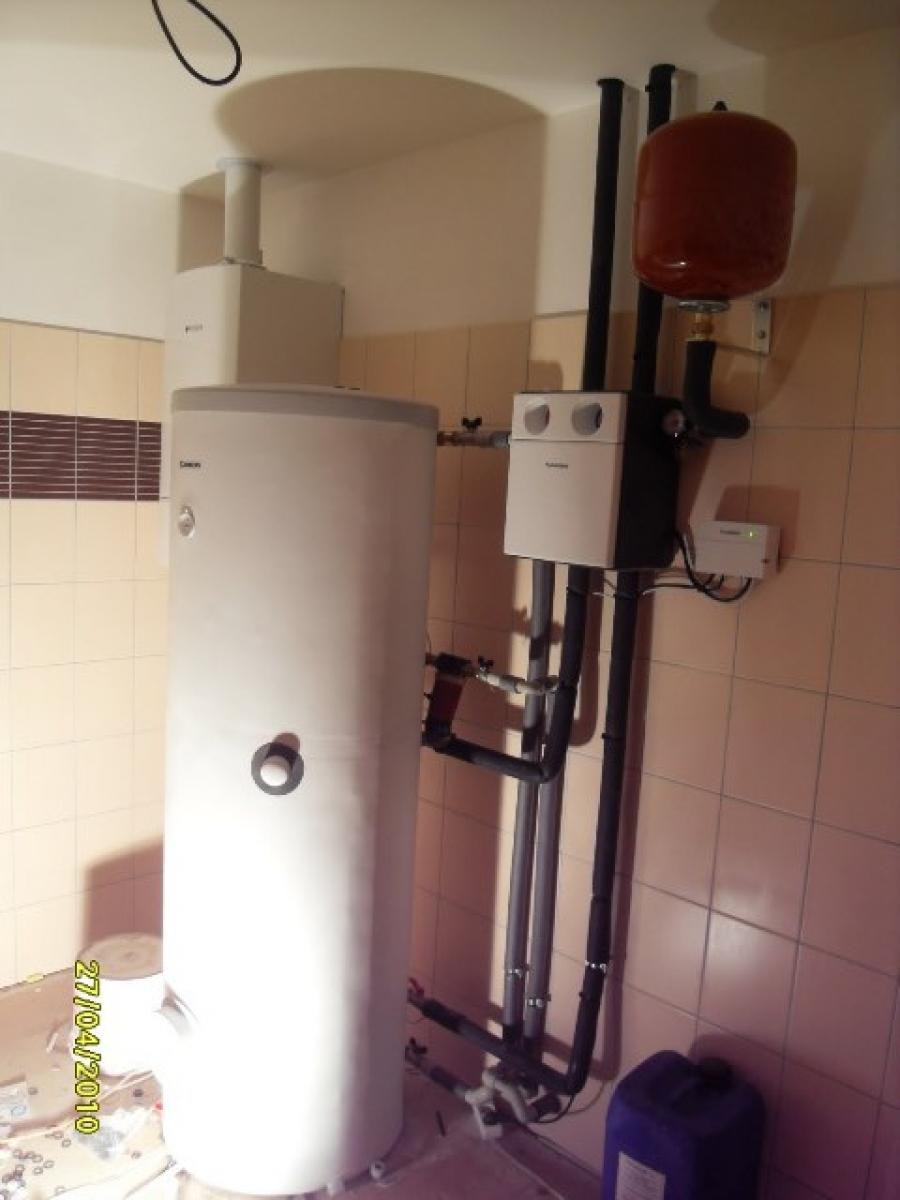 Technická místnost - kotelna