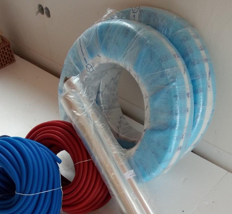 Rozvody užitkové vody v hadicích