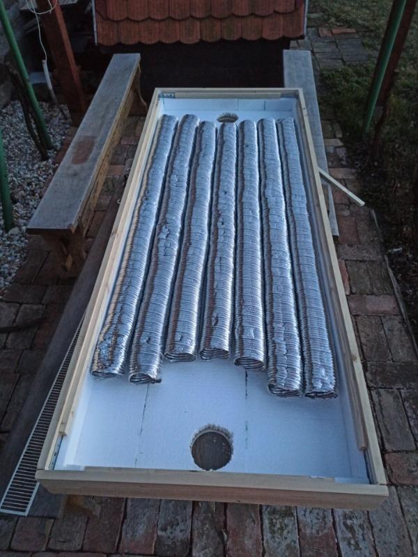 Jak vyrobit teplovzdušný panel