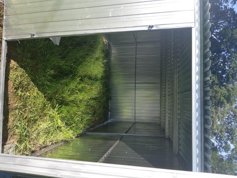 Skrývka + garáž
