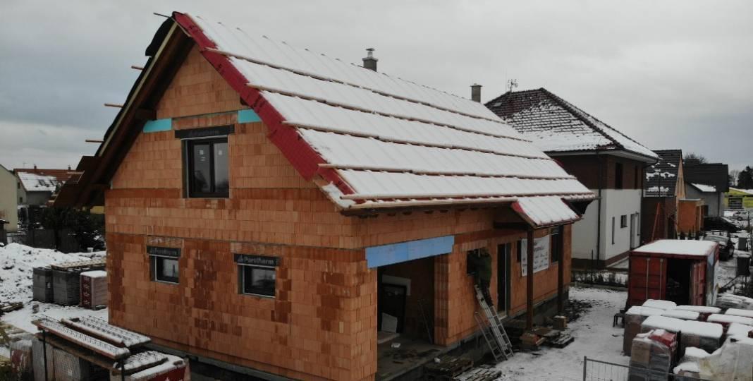 Zimní montáž oken v novostavbách