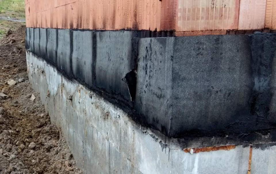 Hydroizolace zdiva - zpětný spoj