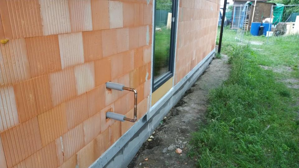 Stavba domu v pandemii - 6. rozvody vody a odpady
