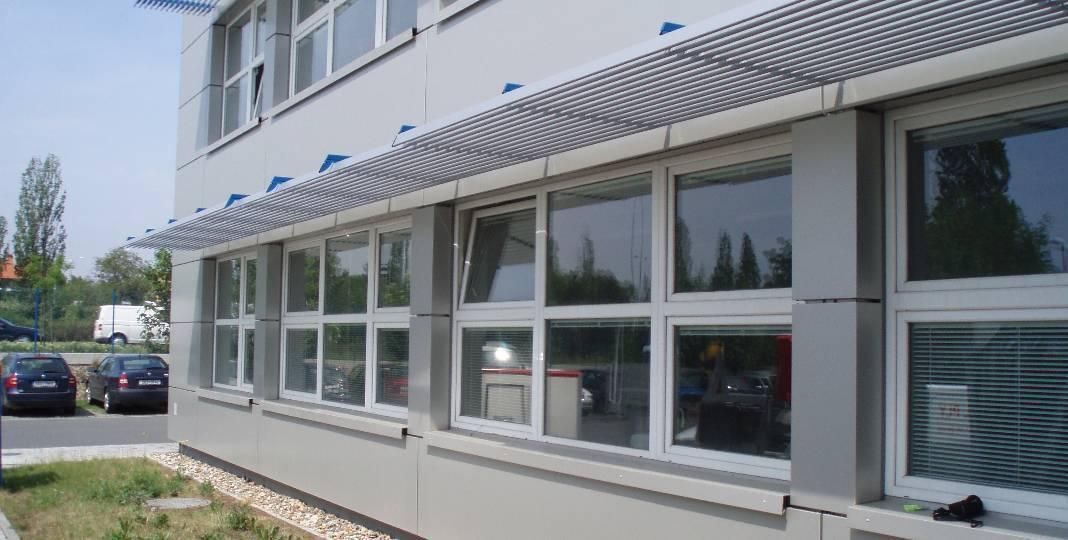 Větraná fasáda  - ideální řešení pro budovy s vyšší vlhkostí