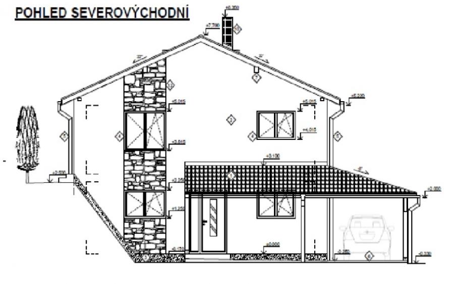 Projekt domu aneb asi budeme stavět Karlštejn