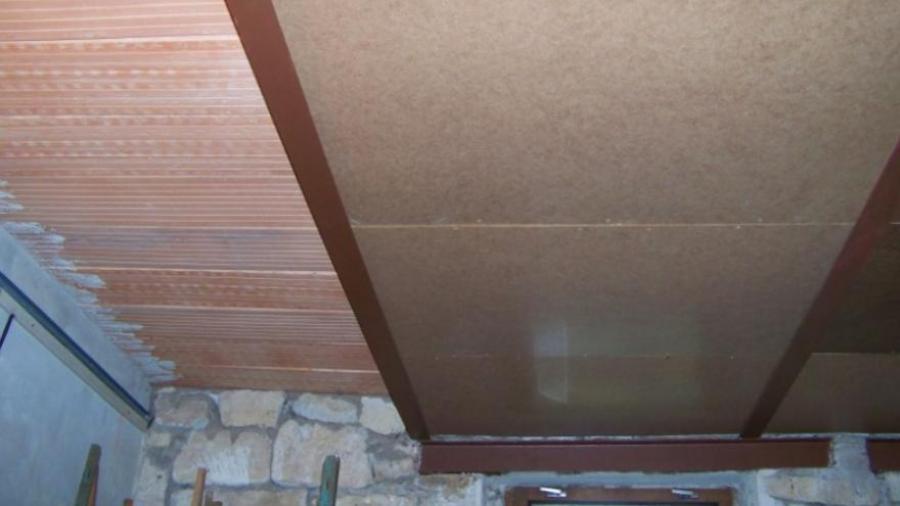 Sádrokarton do nebytových prostor - záklop tepelné izolace