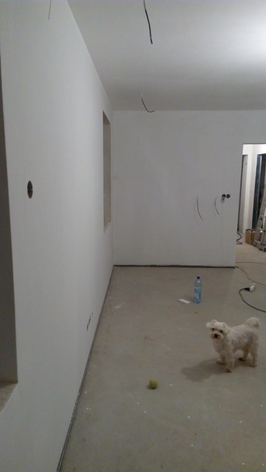 Malování - vše na bílo