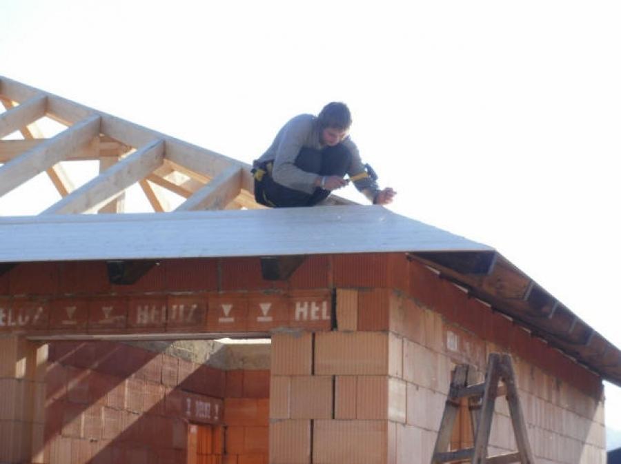 Palubky a laťování střechy