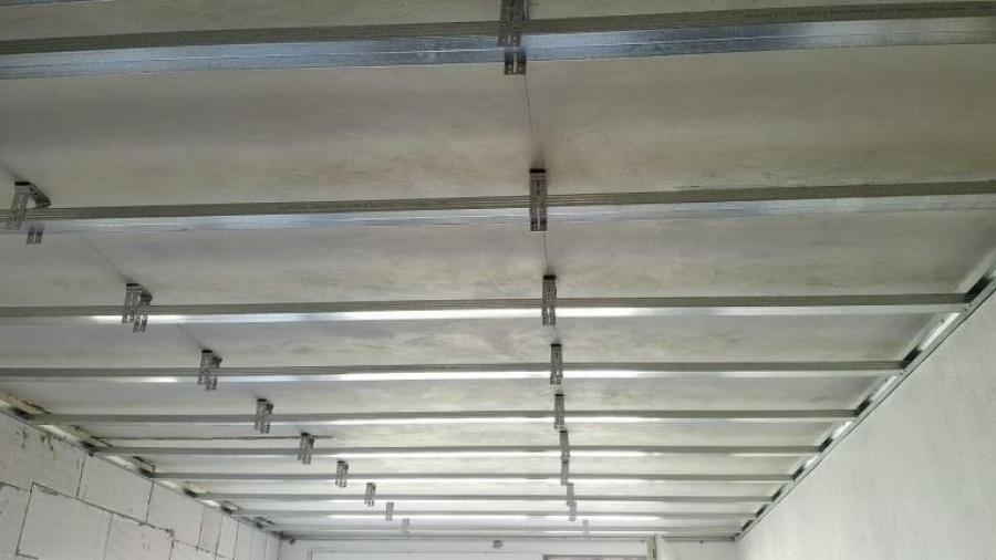 5. Montáž stropních SDK panelů - část druhá