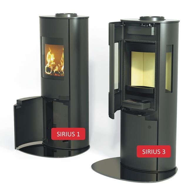 S kamny Schiedel Sirius si můžete dopřát pohodu u ohně během jediného dne