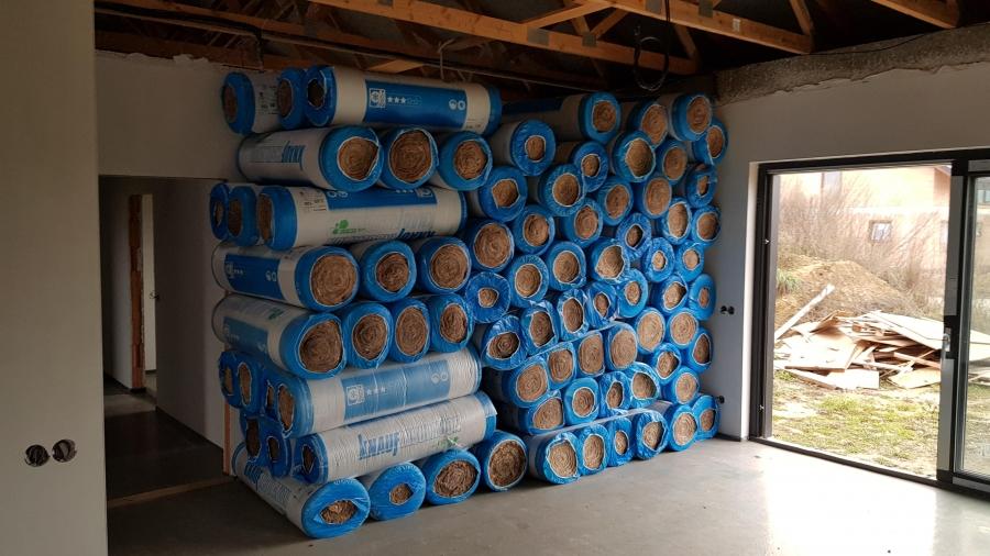 Zateplení stropu, půda a parozábrana