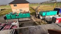 29. stavební týden – Natírání palubek a příprava polystyrenu za pozednice