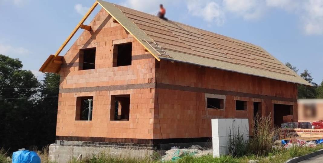 Bednění střechy