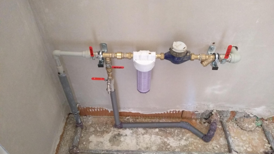 Elektřina, voda a vodoměrná soustava