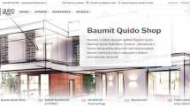 Unikátní webový portál Baumit Quido Shop