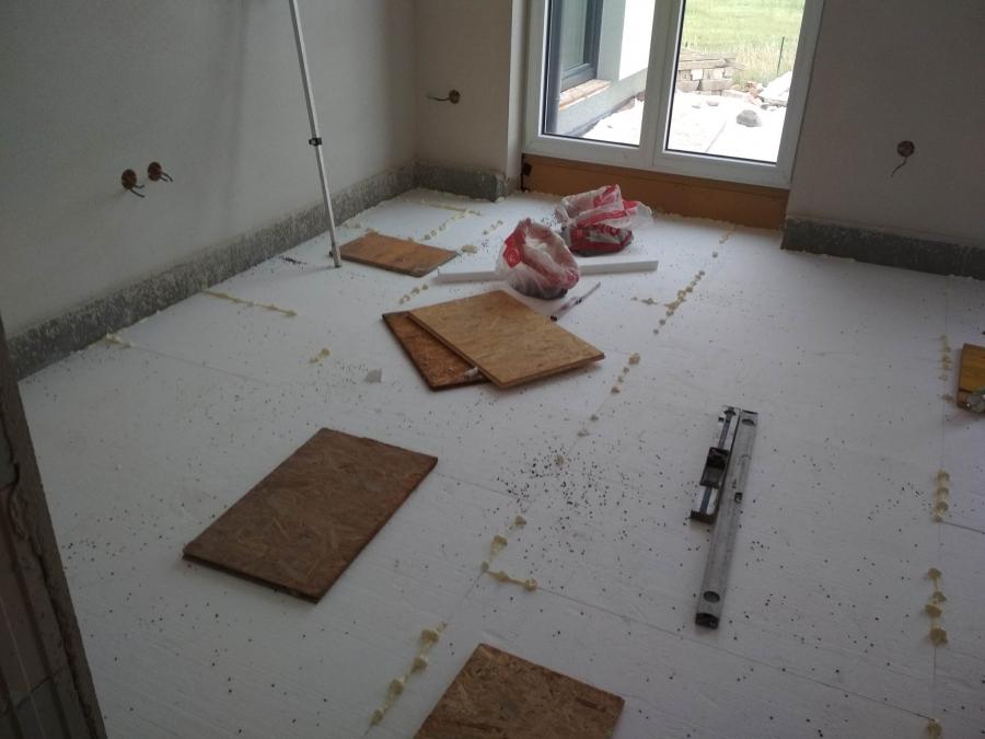 Zateplení podlah