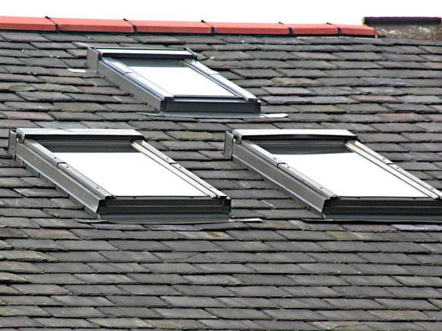 Orientace střešních oken