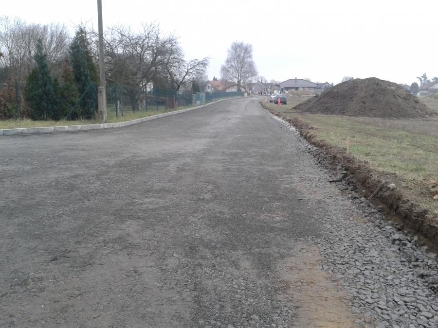 Vybudování silnice