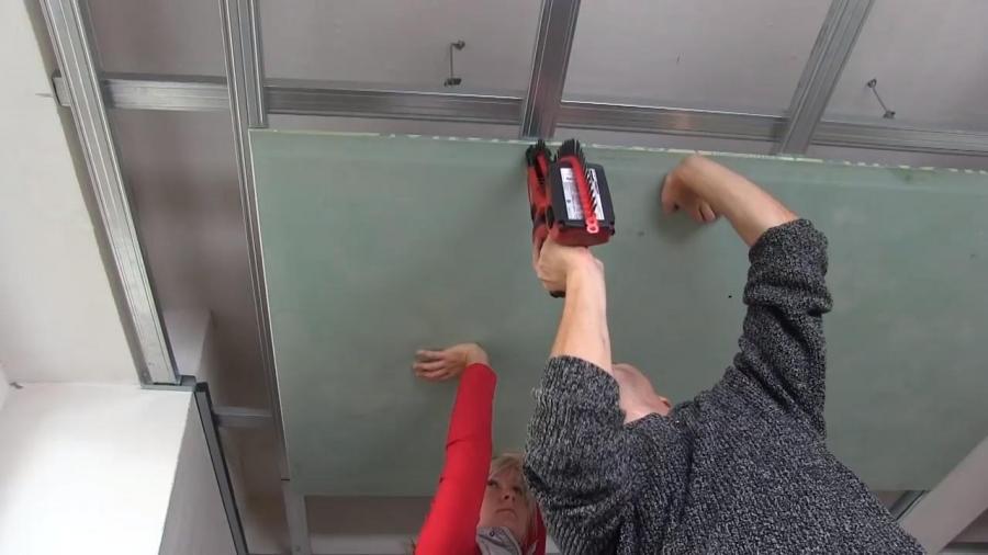Postup montáže sádrokartonového podhledu v koupelně - reakce na komentáře k videu