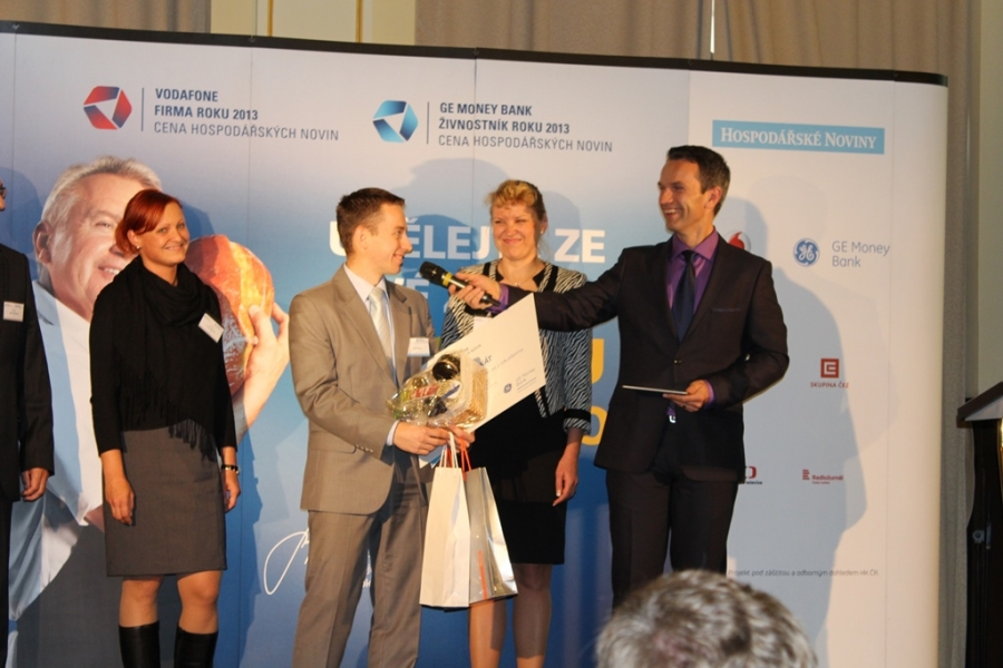 Ocenění v soutěži GE Money Bank Živnostník roku 2013