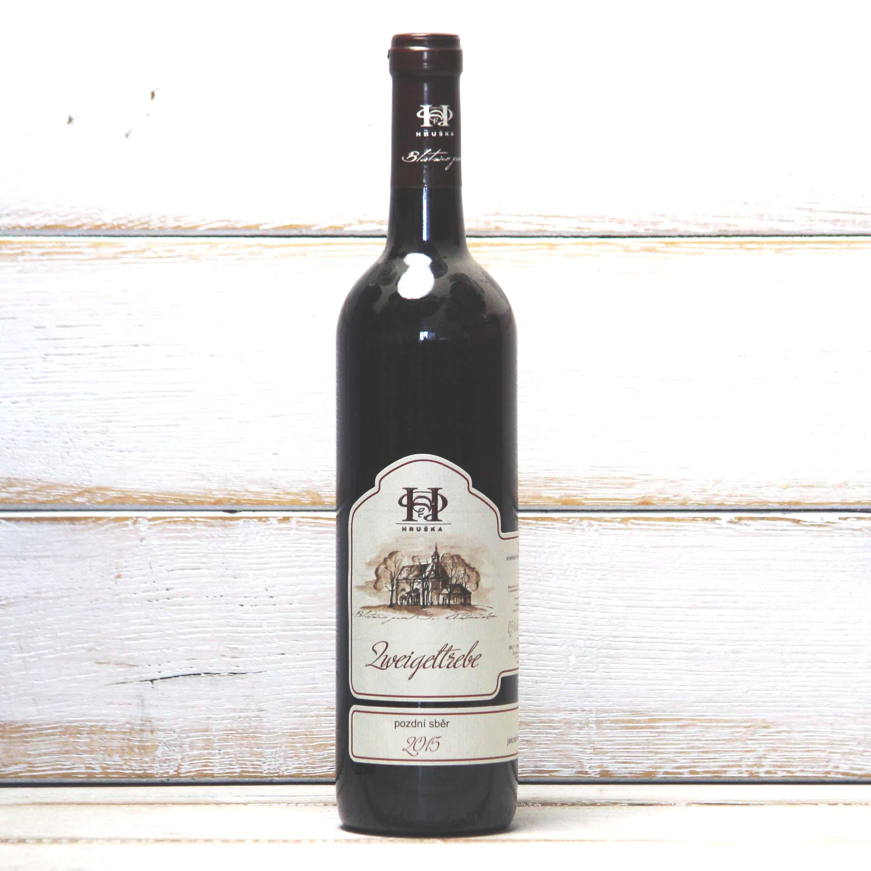 Zweigeltrebe 2016 - vinařství Pavel Hruška