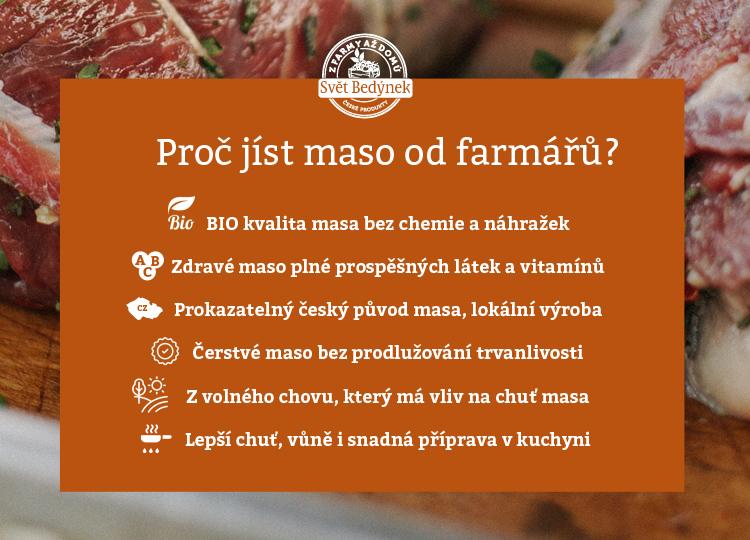 Proč jíst maso od českých farmářů