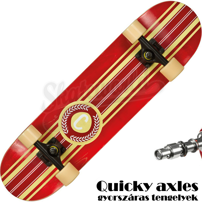 Choke Stripe Pro red gördeszka 26.900 Ft 14.900 Ft   1 darab ... d7c2f65517