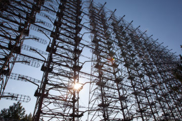 Duga Antenna - Day group Tour to Chernobyl