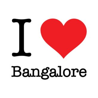 00a58a48 i love bangalore 9in by 7.4in