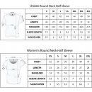 updated t shirt size chart