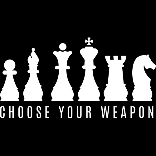 choose your weapon chess india