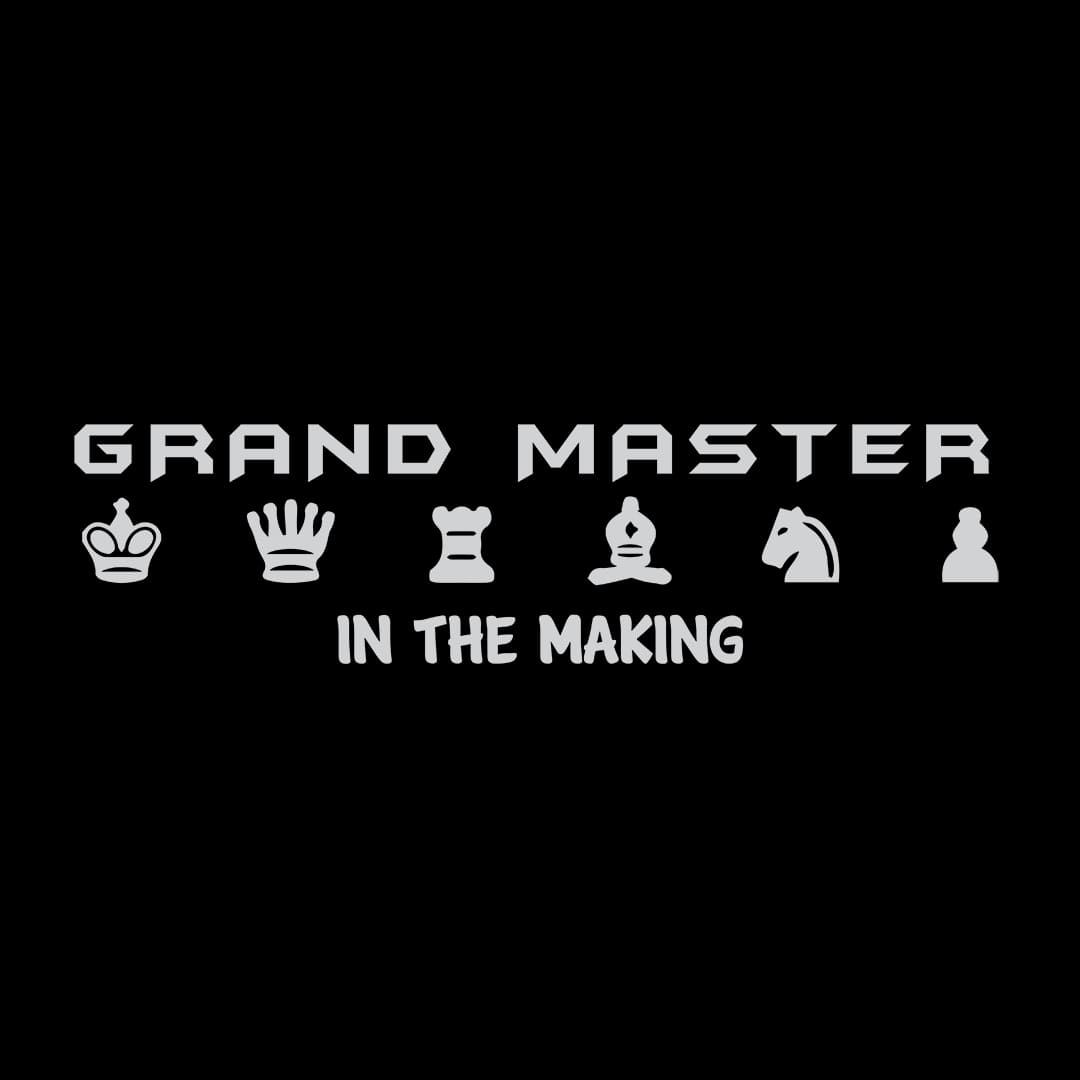 Ffe094f1 Grand Master In The Making 7in By 2in Min