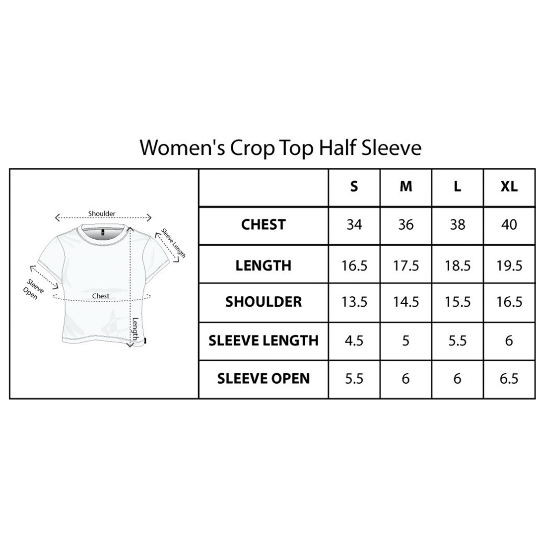 Updated Crop Top Size Chart Square