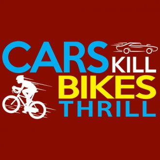 cars kill bikes thrill cycling fitness t shirt india