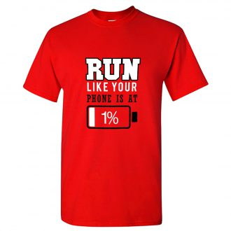 funny casual cotton running t shirt for runners india men red min