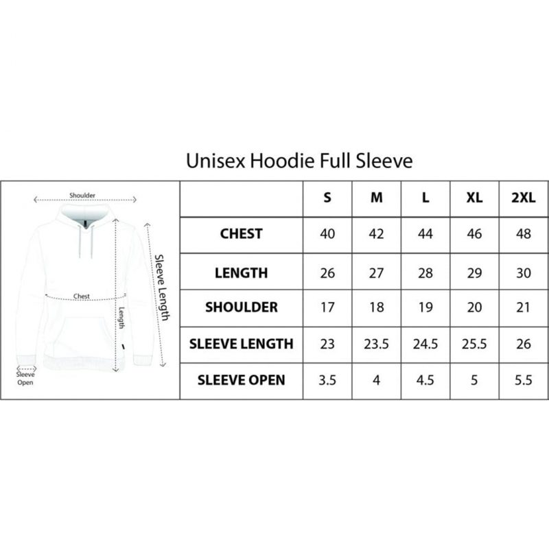 unisex hoodie size chart swag swami