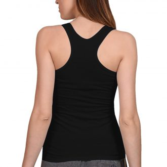 women tank top black back min