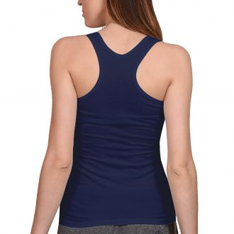 women tank top navy back min