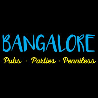 bangalore pubs parties penniless