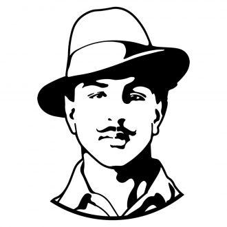bhagat singh swag swami t shirt design