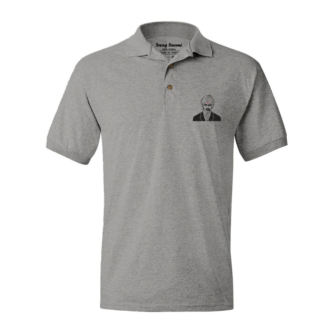 Bharathiyar Polo T Shirt Min