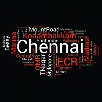 chennai word cloud