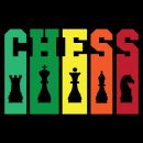 chess tall and colourful
