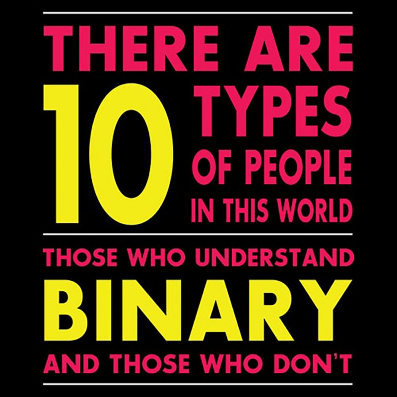 kinds of people understand binary
