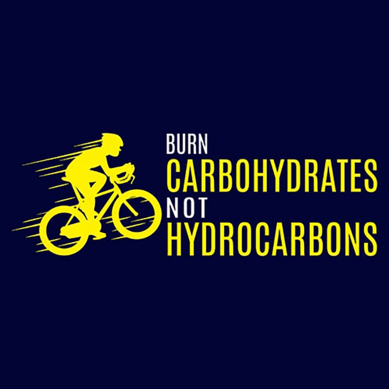 burn carbohydrates not hydrocarbons
