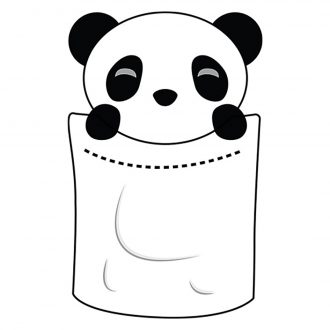 cute pocket panda
