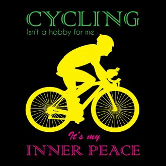 cycling inner peace
