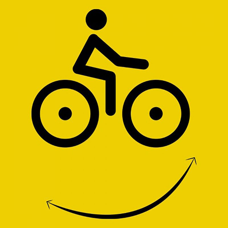 cycling smiley