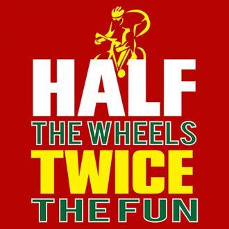 half wheels twice fun