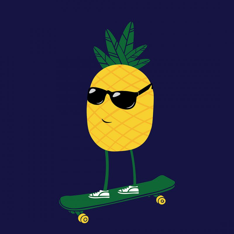 pineapple hipster